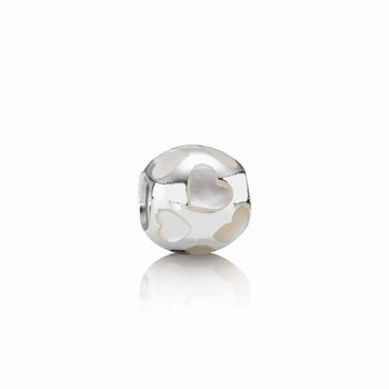 Pandora Love Me Charm, Mother Of Pearl 790398MPW