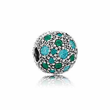 Pandora Cosmic Stars, Multi-Colored Crystals & Teal CZ 791286MCZ