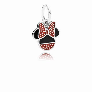 Pandora Disney, Minnie Icon Dangle Charm, Mixed Enamel 791460ENM