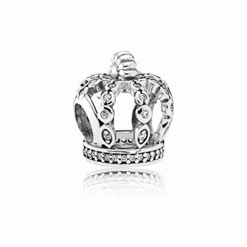 Pandora Fairy Tale Crown Charm 791841EN68
