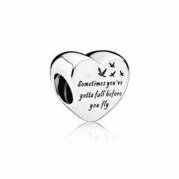 Pandora Heart of Freedom Charm 791967