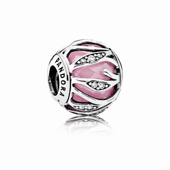 Pandora Nature's Radiance, Pink & Clear CZ 791969PCZ