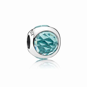 Pandora Radiant Droplet Charm, Icy Green Crystals 792095NIC